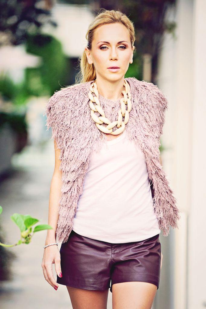 Fashion Model Elena Taranina Lifestyle Photo Shoot Miami Beach