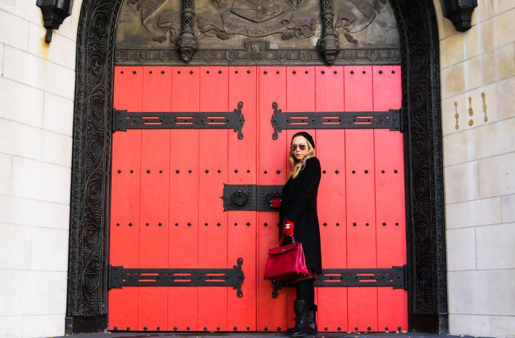 Secret Red Doors