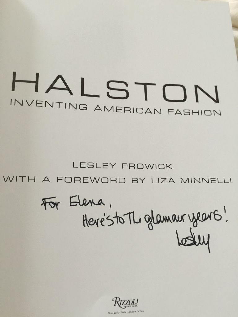 HALSTON Fashion Speak Friday
