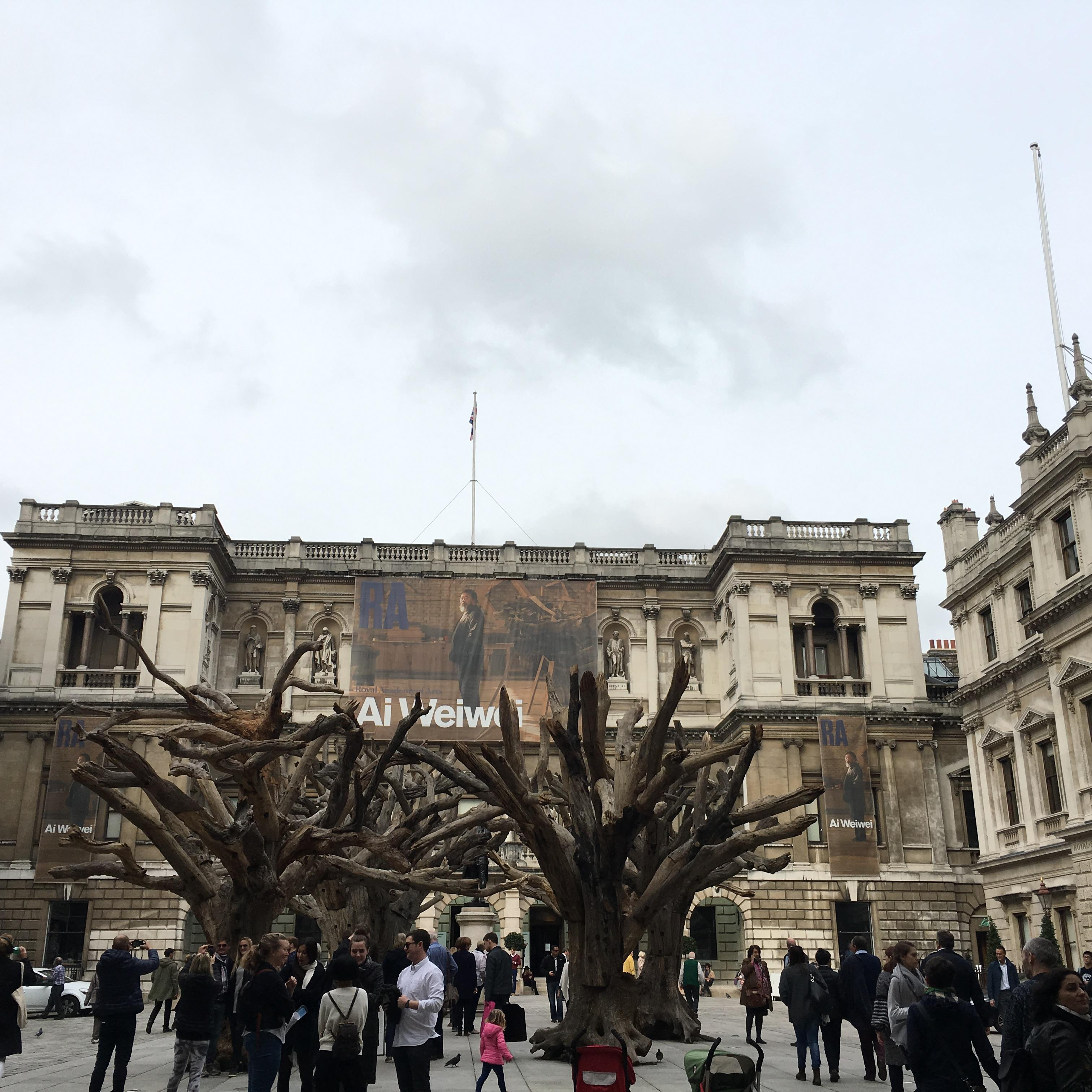 Ai Weiwei's exhibition at the Royal Academy, london