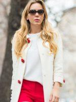 Red Shorts/White Coat