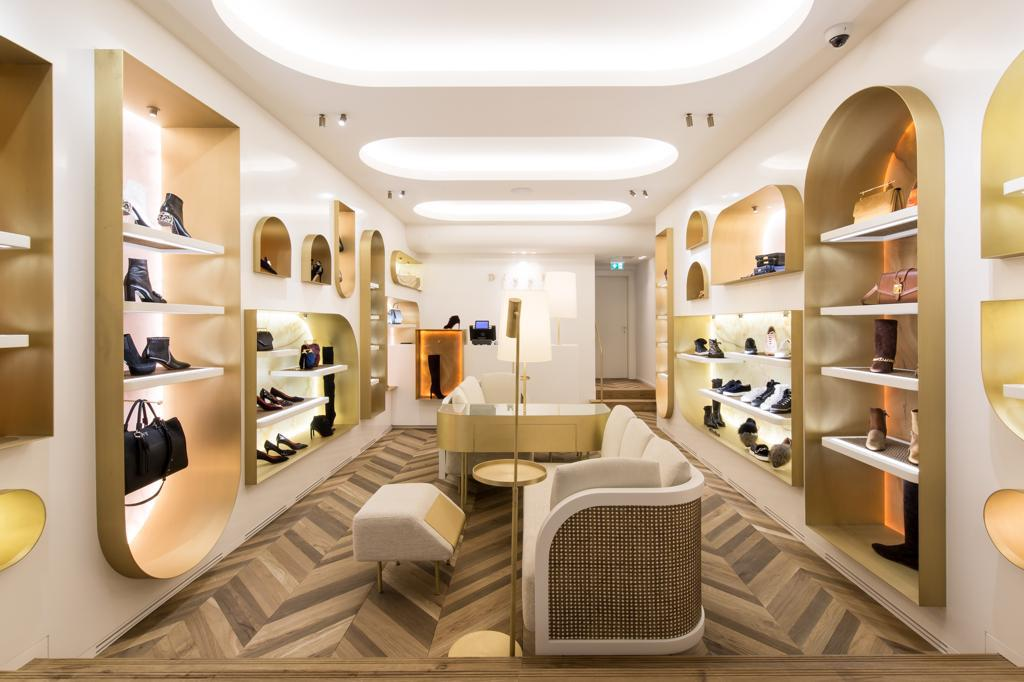 For the shoe lovers: luxury boutique in Vienna.
